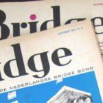 Gratis bridgebladen uit 1972-1976