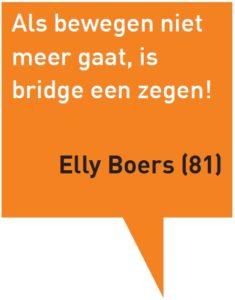 Denken en Doen citaat Elly Boers
