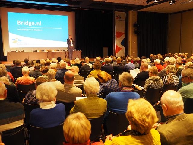 Presentatie nieuwe brid tijdens bridgecongresge.nl