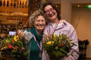 NK Vrouwenparen 2019 Pauline Doedens en Anke Wijma