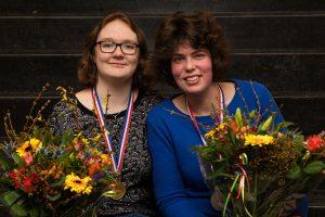 Merel Bruijnsteen en Doris van Delft winnen NK Vrouwen Paren 2019