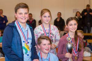 Het NK Scholen Minibridge 2018 is gewonnen door De Keg uit Venray.