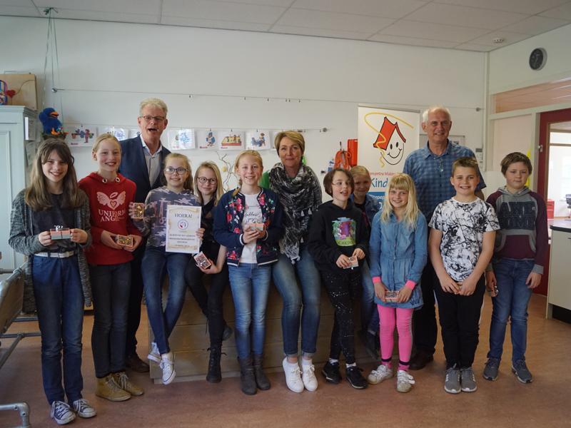 500e leerling Minibridge in Reeuwijk-Dorp