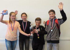 NK Scholen 1e plaats De Keg uit Venray