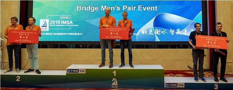 #TeamNL Bridge Open wint IMSA Open Pairs