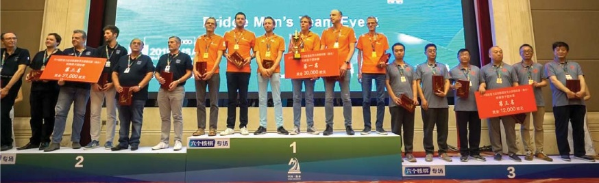 #TeamNL Bridge Open wint IMSA Open Teams