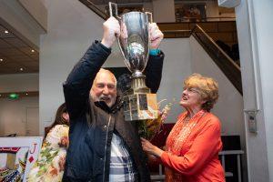 Ruitenboertoernooi 2019 winnaars Annelène Balk en Kees van Gennip