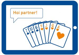 Mijlpaal! StepBridge: speel ook online - Nederlandse Bridge Bond